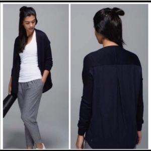 Lululemon Cardi in the Front Cardigan Sweater 6